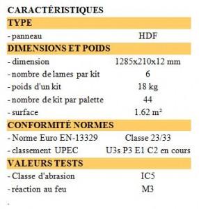 Parquet stratifié 12mm 33-AC5