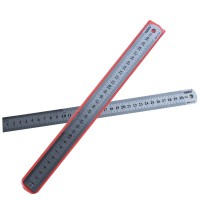 Wholesale-30cm-Steel-font-b-Ruler-b-font-Thickening-0-7mm-Metric-and-font-b-Inch
