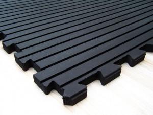 dalle caoutchouc emboîtable 915x1220x17mm ref 538 drainage